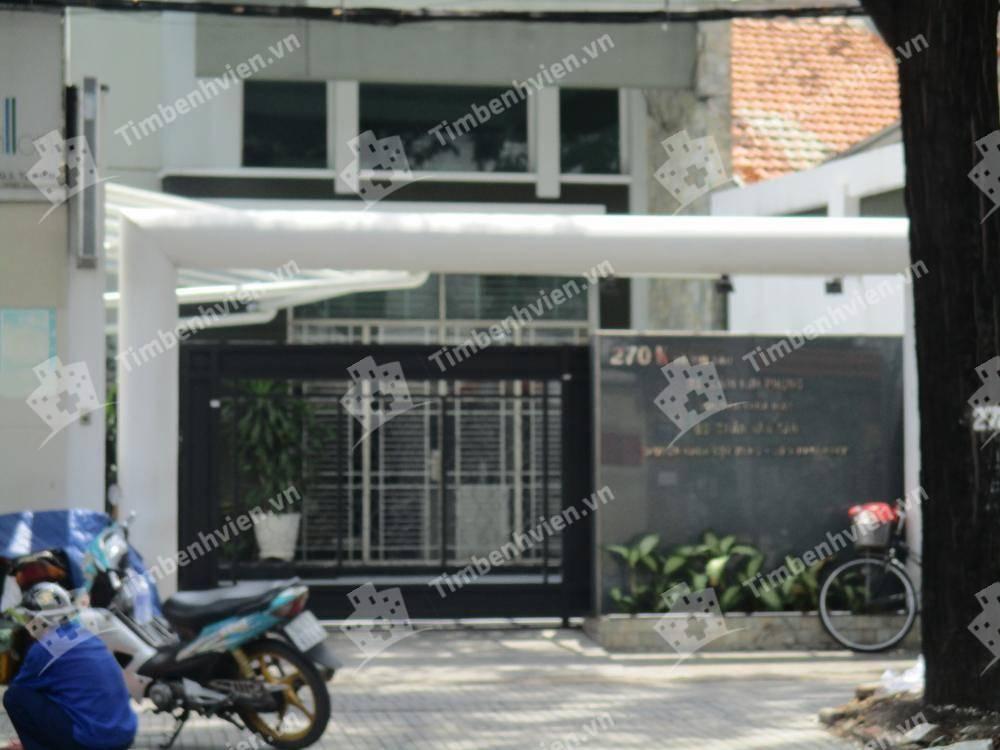 Phòng Khám Chuyên Khoa Xương Khớp - BS. Trần Văn Tân & Mắt - BS. Lâm Kim Phụng - Cổng chính