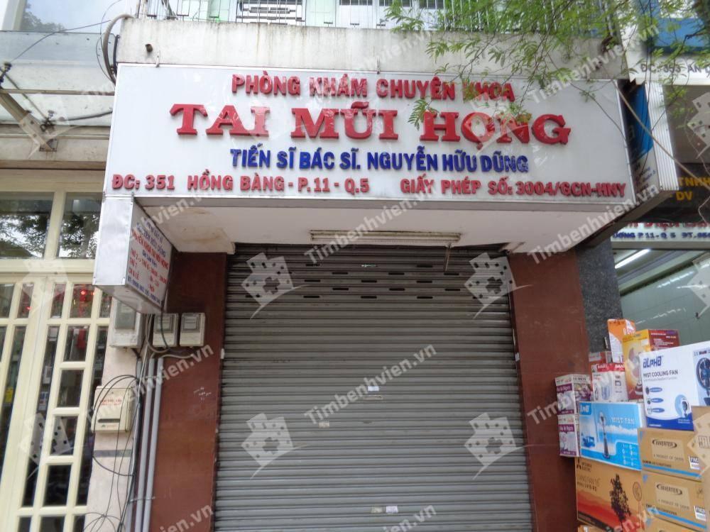 Phòng Khám Chuyên Khoa Tai Mũi Họng - BS Nguyễn Hữu Dũng