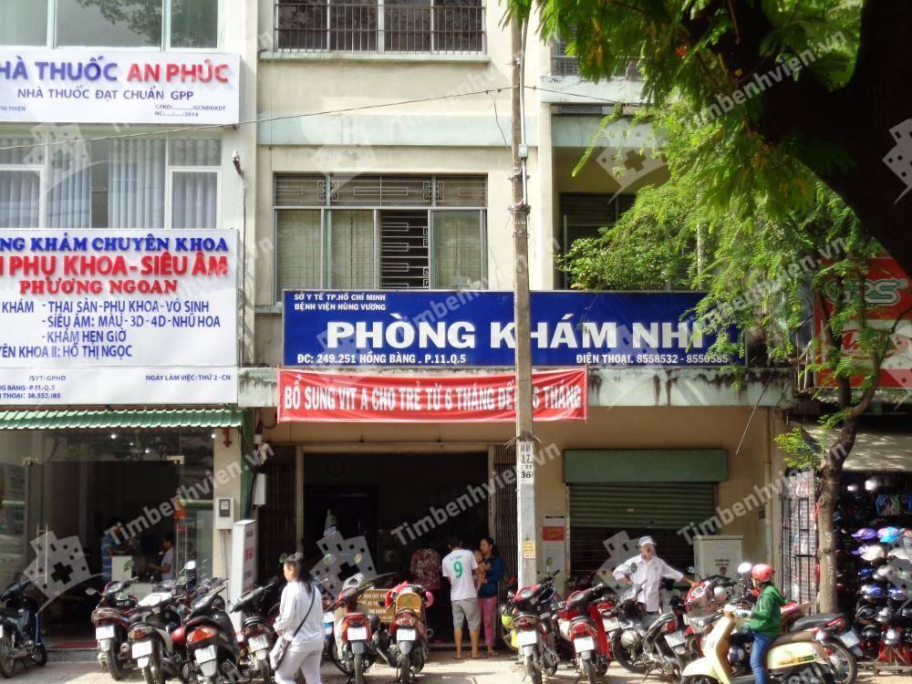 Phòng khám chuyên khoa Nhi - Bệnh viện Hùng Vương