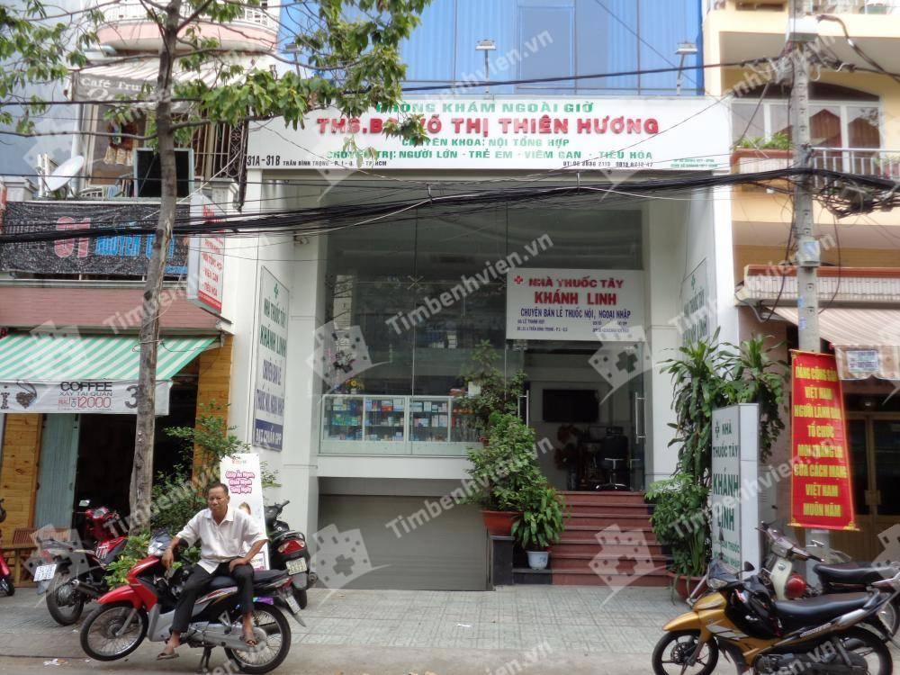 Phòng Khám Chuyên Khoa Nội Tổng Hợp - BS Võ Thị Thiên Hương - Cổng chính