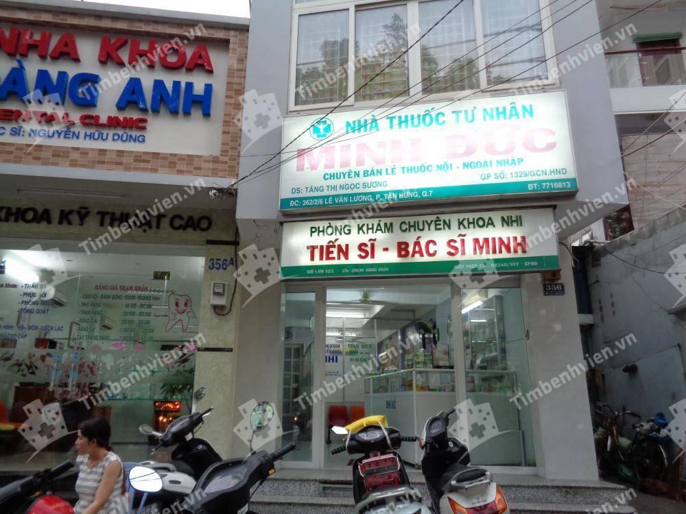 Phòng khám chuyên khoa Nhi - BS Minh