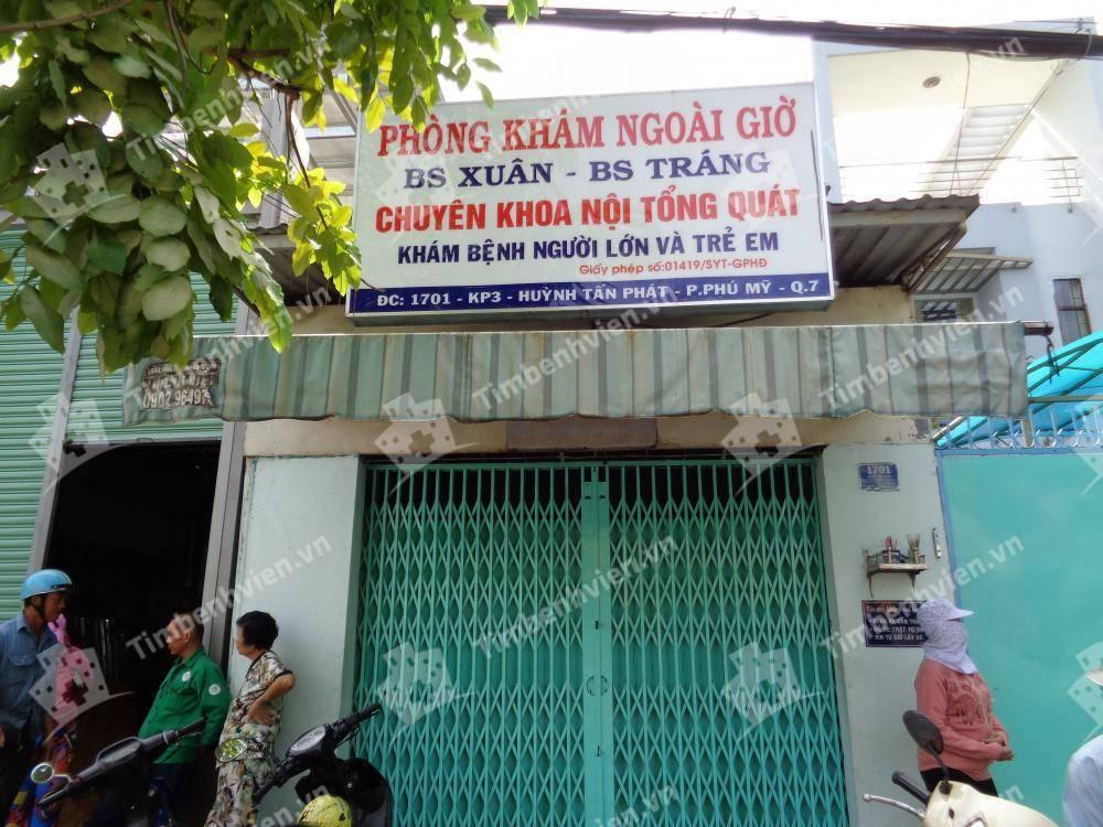 Phòng khám Nội Tổng Quát - BS Xuân & BS Tráng - Cổng chính