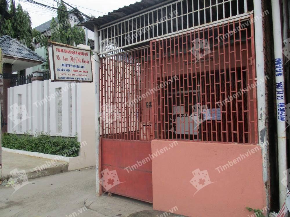Phòng khám chuyên khoa Nhi - BS Cao Thị Phi Oanh