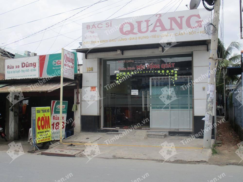 Phòng Khám Chuyên Khoa Nội Tổng Hợp - BS Quảng