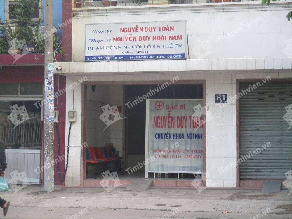 Phòng Khám Chuyên Khoa Nội Nhi BS. Nguyễn Duy Toàn