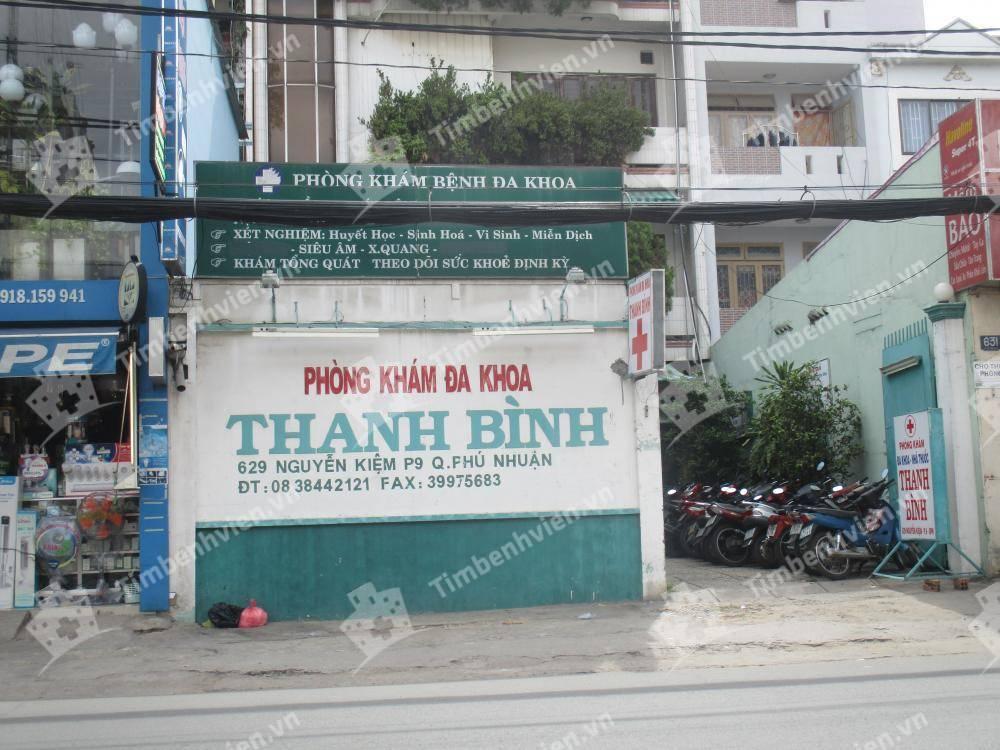 Phòng Khám Đa Khoa Thanh Bình - Cổng chính