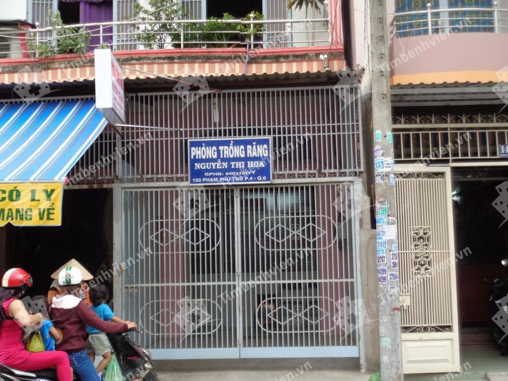 Phòng trồng răng - BS Nguyễn Thị Hoa