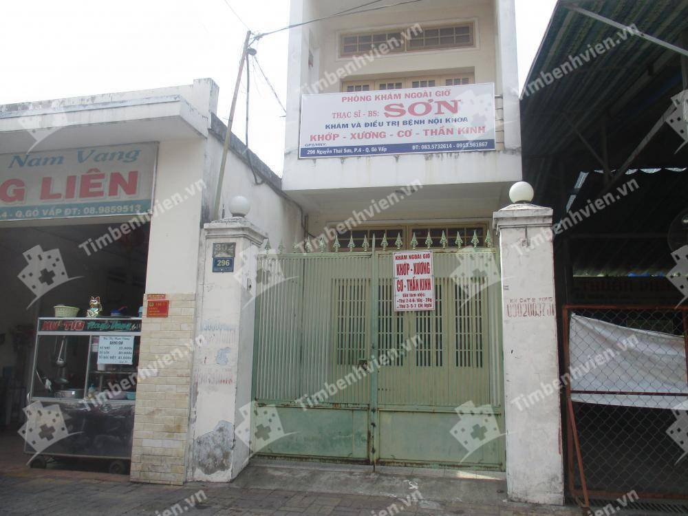 Phòng Khám Chuyên Khoa Nội Tổng Hợp - BS. Phạm Văn Sơn