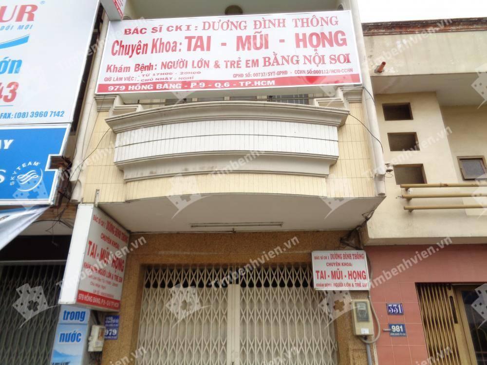 Phòng Khám Chuyên Khoa Tai Mũi Họng - BS Dương Đình Thông
