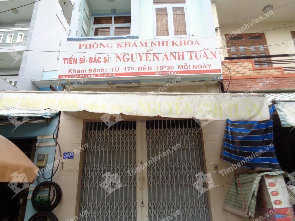 Phòng khám chuyên khoa Nhi - BS Nguyễn Anh Tuấn - Cổng chính