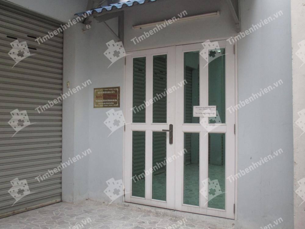 Phòng Khám Chuyên Khoa Mắt - BS. Nguyễn Trần Thúy Hằng - Cổng chính