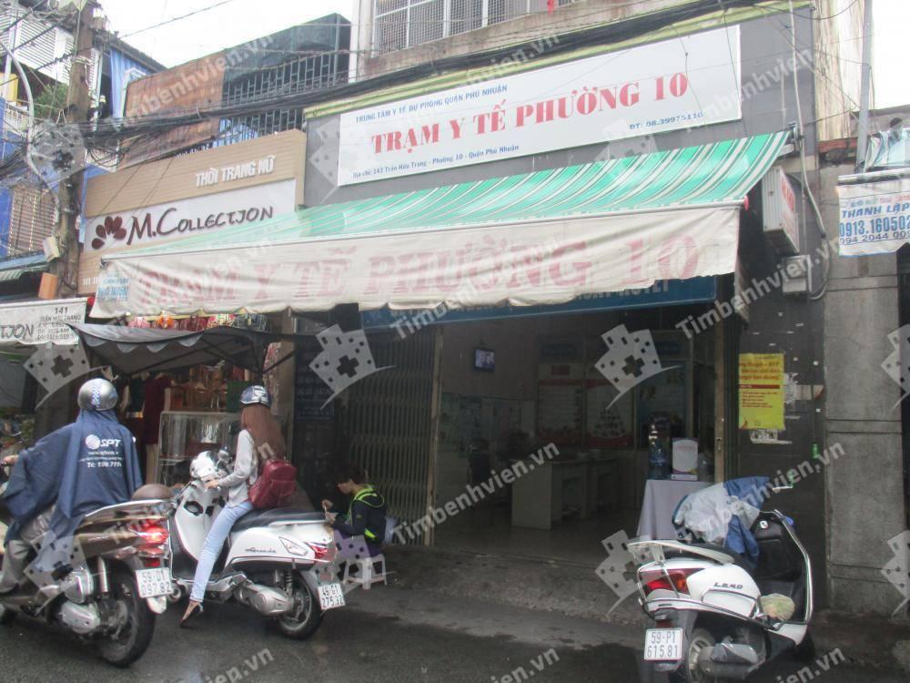 Trạm Y Tế Phường 10 Quận Phú Nhuận