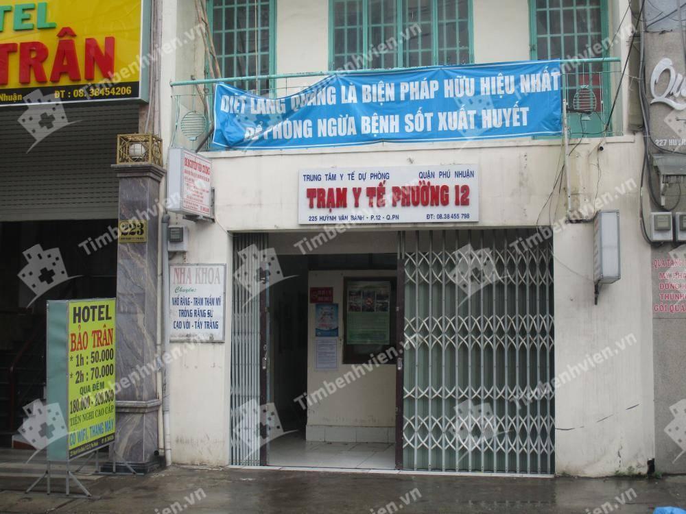 Trạm Y Tế Phường 12 Quận Phú Nhuận