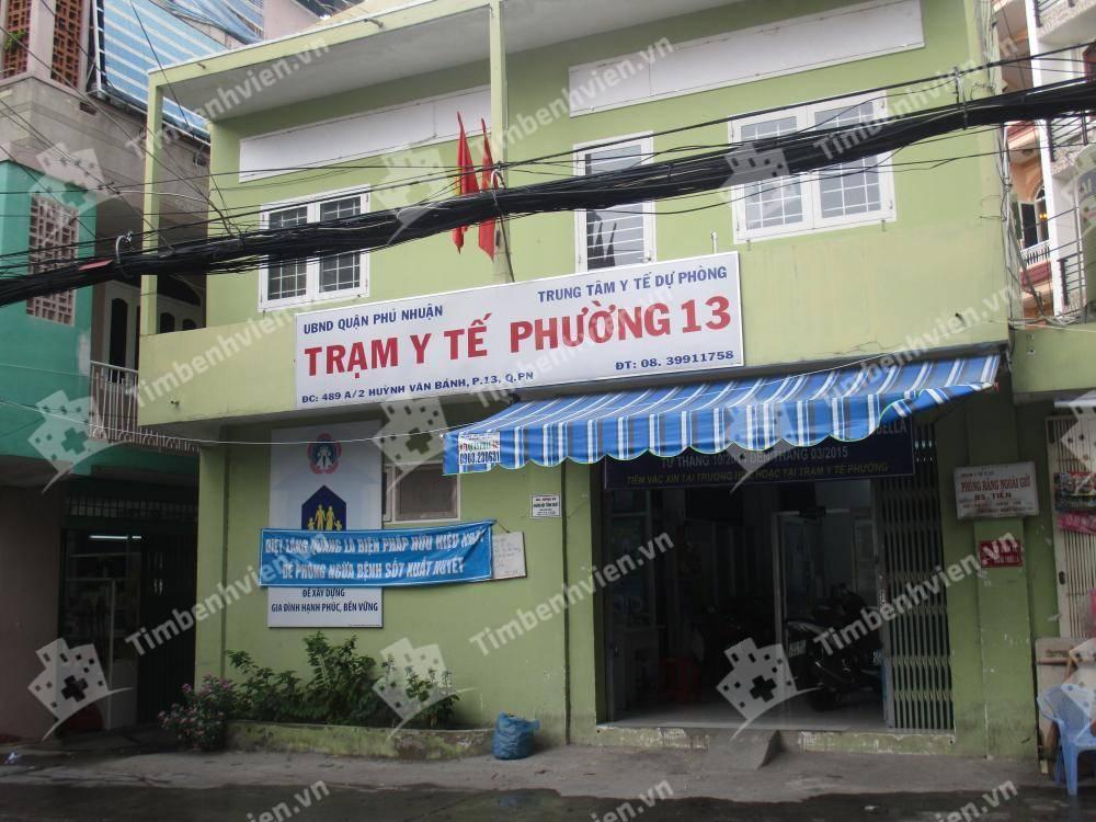 Trạm Y Tế Phường 13 Quận Phú Nhuận