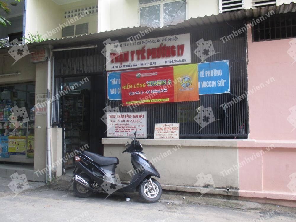 Trạm Y Tế Phường 17 Quận Phú Nhuận