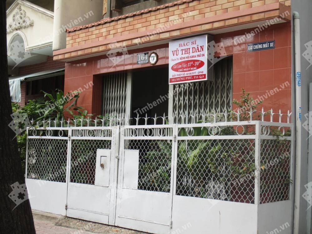Phòng khám chuyên khoa Nhi - BS. Vũ Thị Dân