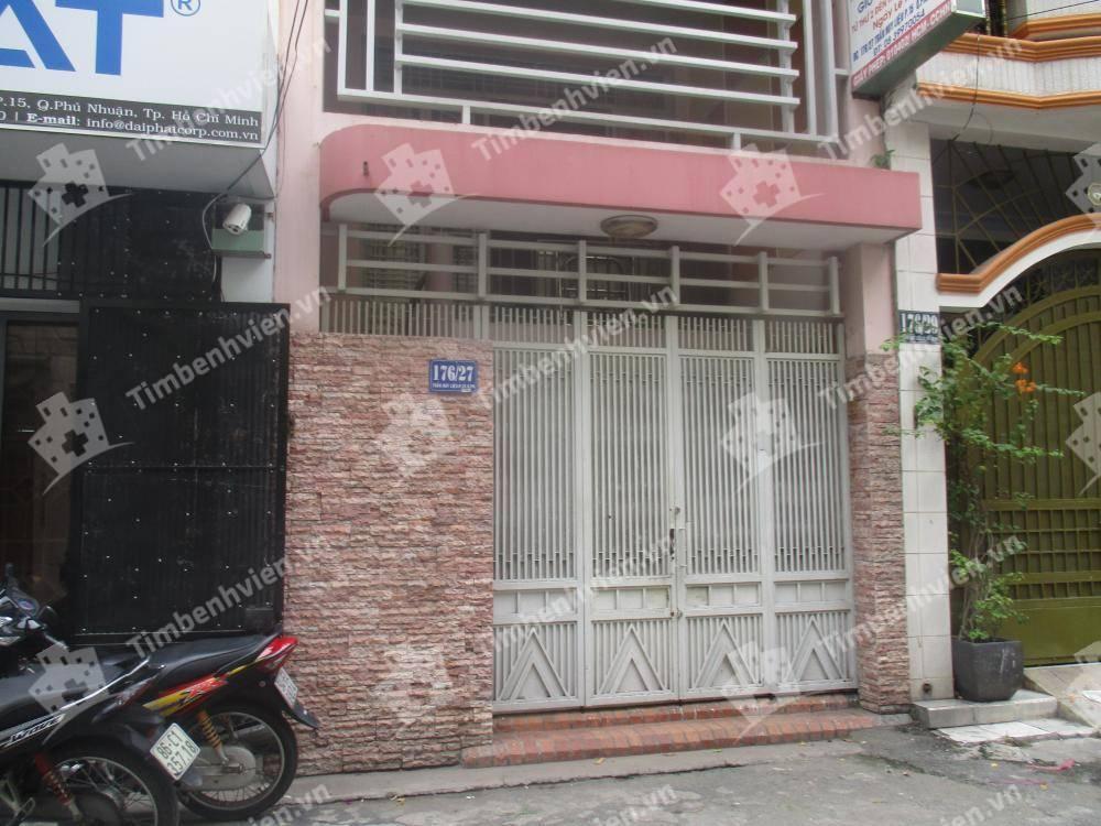 Phòng khám chuyên khoa Nhi - BS. Dương Công Minh - Cổng chính