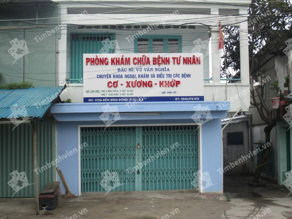 Phòng Khám Chuyên Khoa Xương Khớp - BS. Vũ Văn Nghĩa