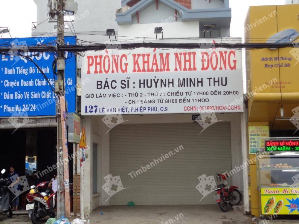 Phòng khám chuyên khoa Nhi - BS. Huỳnh Minh Thu - Cổng chính