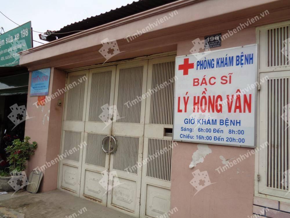 Phòng khám bệnh - BS Lý Hồng Vân
