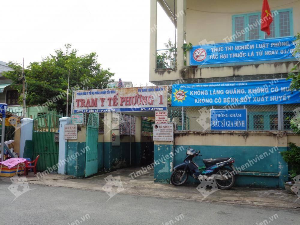 Trạm Y Tế Phường 1 Quận Tân Bình