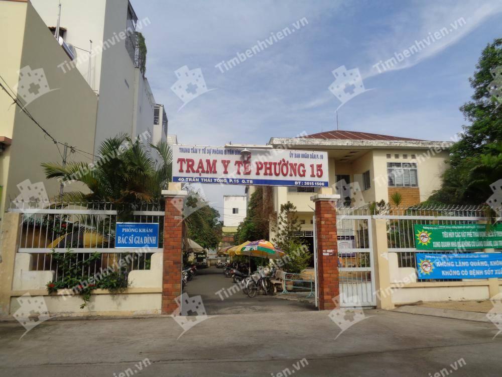 Trạm Y Tế Phường 15 Quận Tân Bình