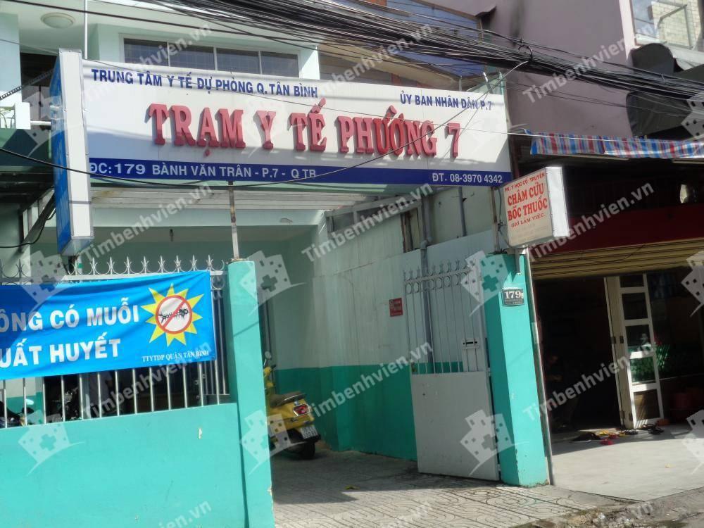Trạm Y Tế Phường 7 Quận Tân Bình