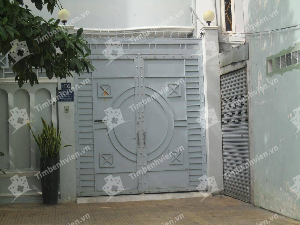 Phòng Khám Chuyên Khoa Mắt - BS. Trịnh Bạch Tuyết - Cổng chính