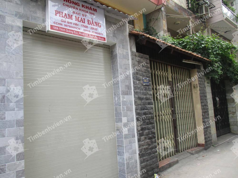 Phòng khám chuyên khoa Nhi - BS. Phạm Mai Đằng - Cổng chính