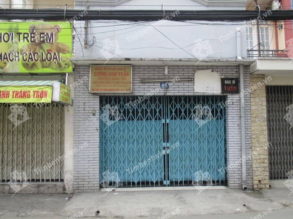 Phòng khám chuyên khoa Nhi - BS. Lương Anh Tuấn - Cổng chính