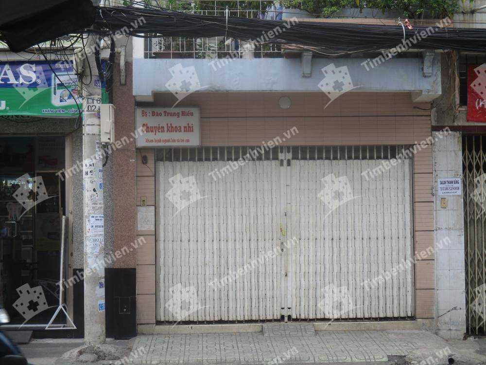 Phòng khám chuyên khoa Nhi - BS. Đào Trung Hiếu - Cổng chính