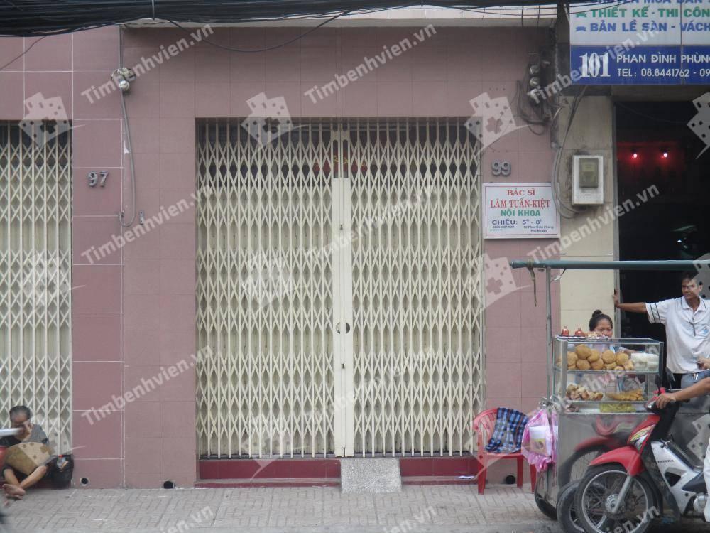 Phòng Khám Chuyên Khoa Nội Tổng Hợp - BS. Lâm Tuấn Kiệt