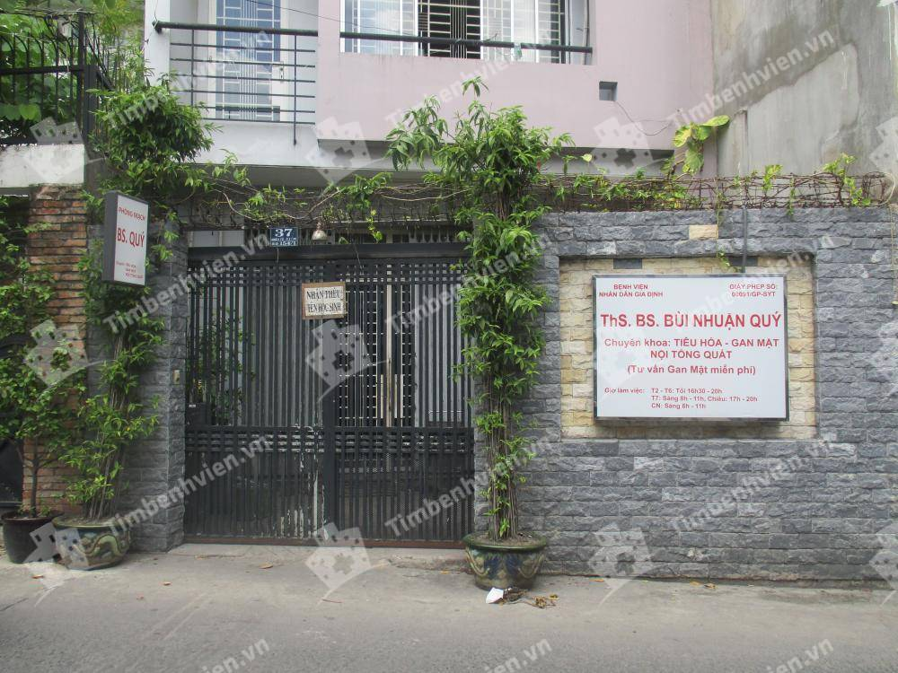 Phòng Khám Chuyên Khoa Nội Tổng Hợp - BS. Bùi Nhuận Quý