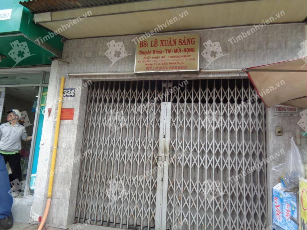 Phòng Khám Tai Mũi Họng - BS Lê Xuân Sáng - Cổng chính
