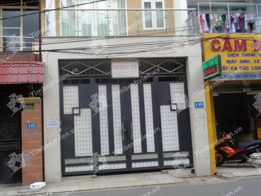 Phòng khám chuyên khoa Nhi - BS Nguyễn Thị Thủy