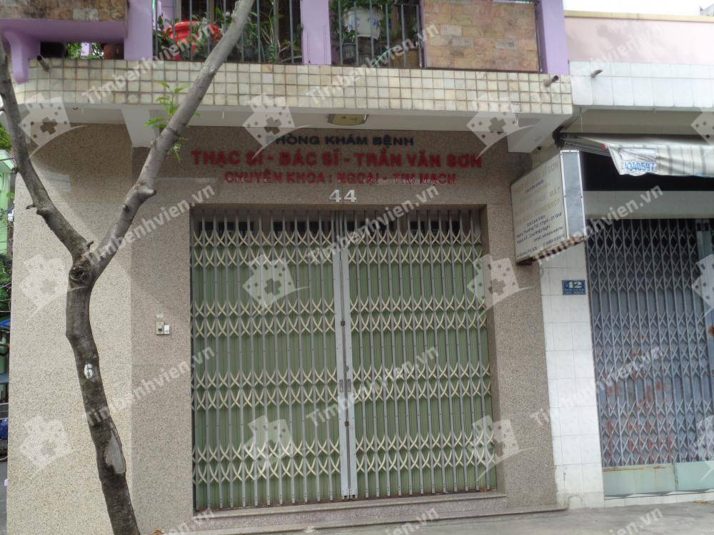 Phòng khám Nội Ngoại Khoa - BS Sơn - Cổng chính
