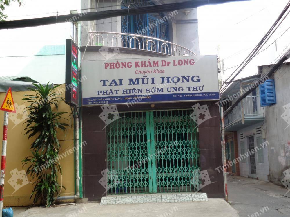 Phòng khám Tai Mũi Họng - BS Long - Cổng chính