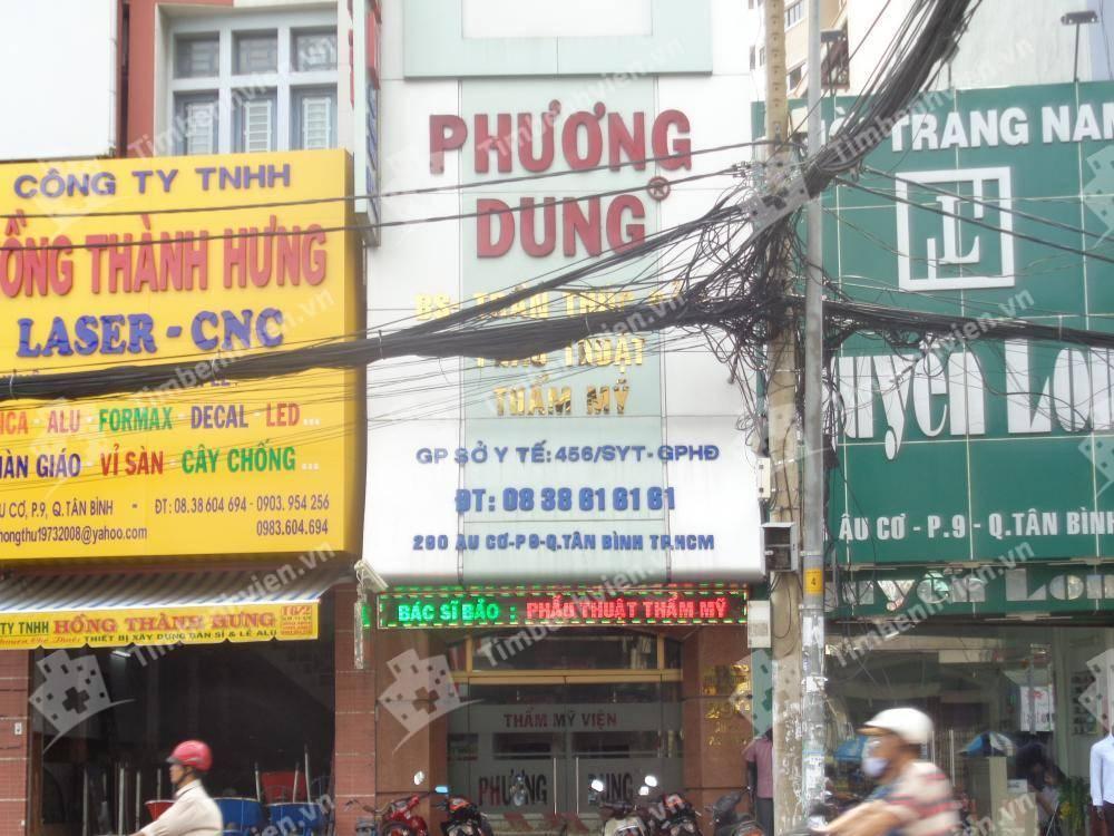 Thẩm mỹ viện Phương Dung - Cổng chính