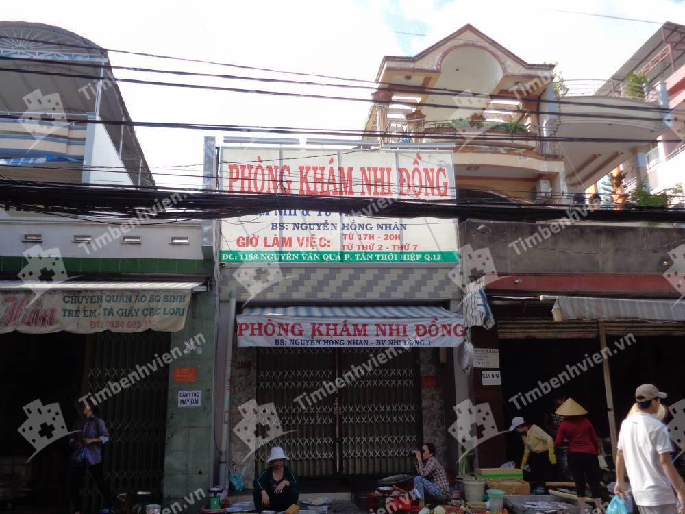 Phòng khám chuyên khoa Nhi - BS. Nguyễn Hồng Nhân