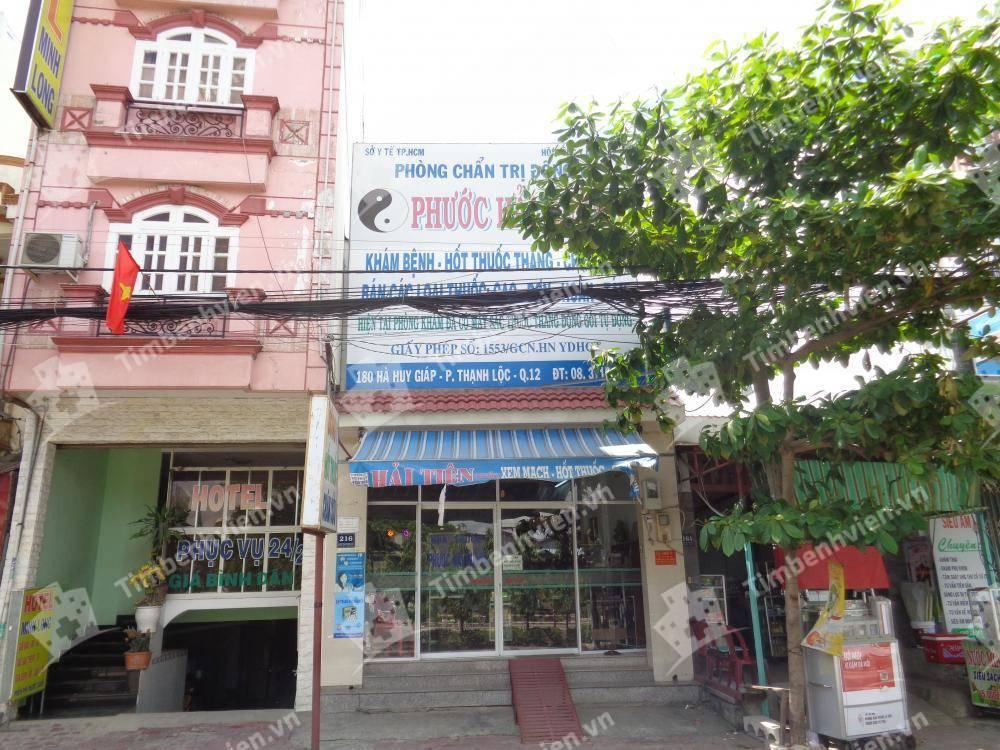 Phòng Chẩn Trị Y Học Cổ Truyền Phước Hải Đường