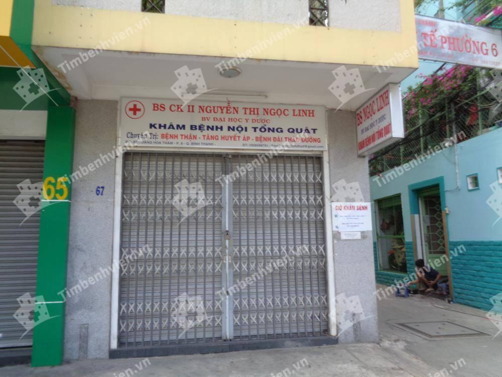 Phòng Khám Chuyên Khoa Nội Tổng Hợp - BS. Nguyễn Thị Ngọc Linh