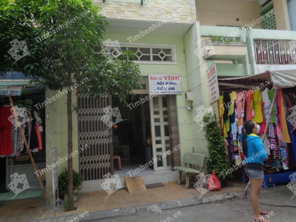 Phòng Khám Nội khoa - BS Vĩnh - Cổng chính