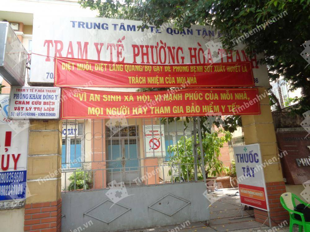 Trạm Y Tế Phường Hòa Thạnh Quận Tân Phú