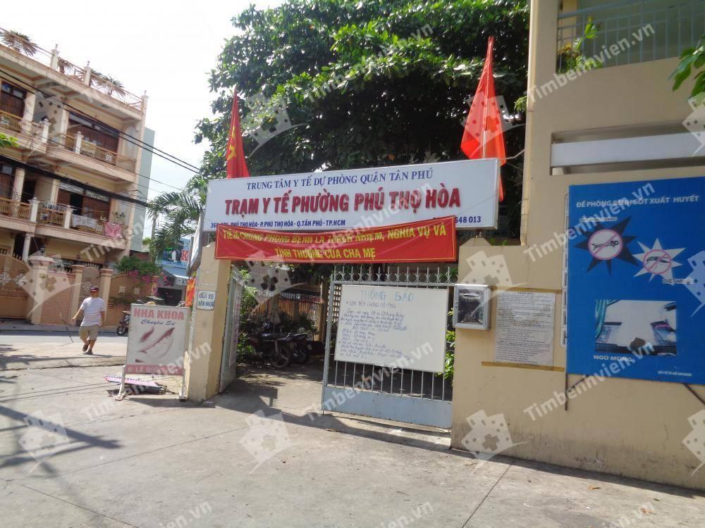 Trạm Y Tế Phường Phú Thọ Hòa Quận Tân Phú