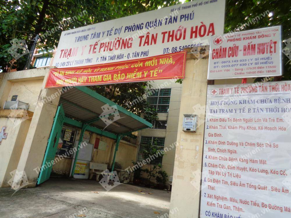 Trạm Y Tế Phường Tân Thới Hòa Quận Tân Phú