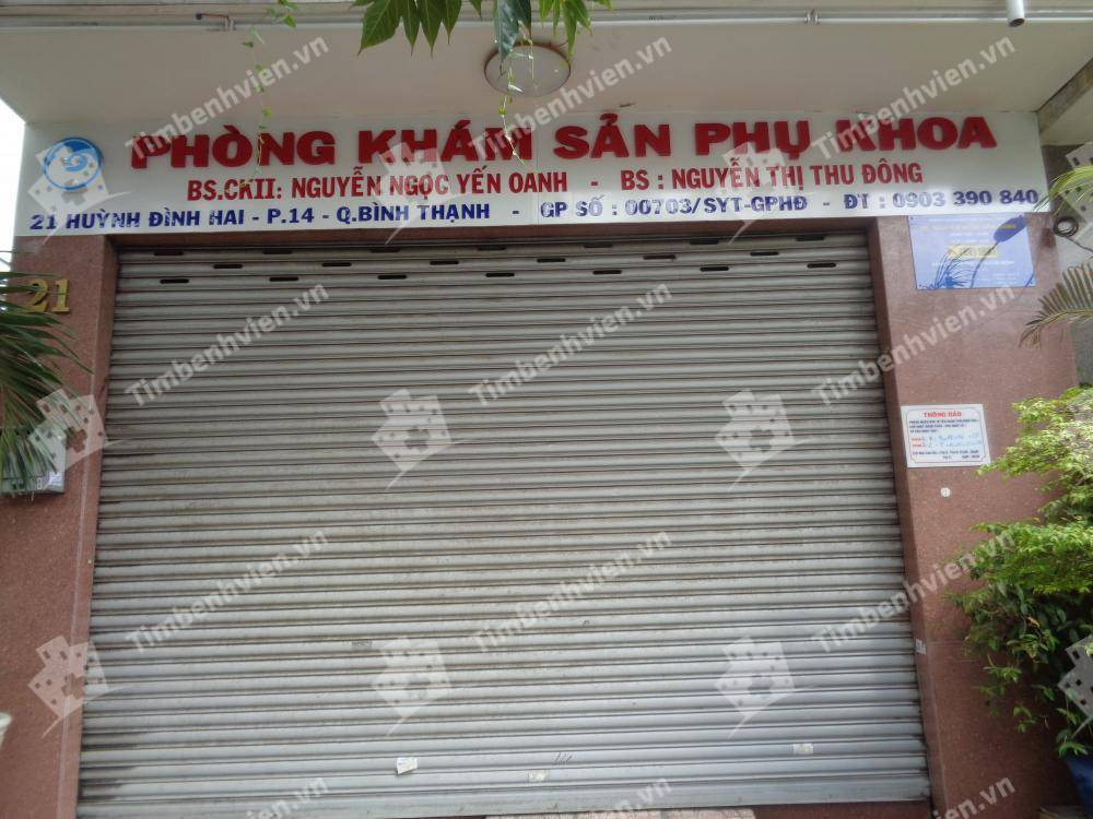 Phòng khám chuyên khoa Sản phụ khoa - BS. Yến Oanh & BS. Thu Đông