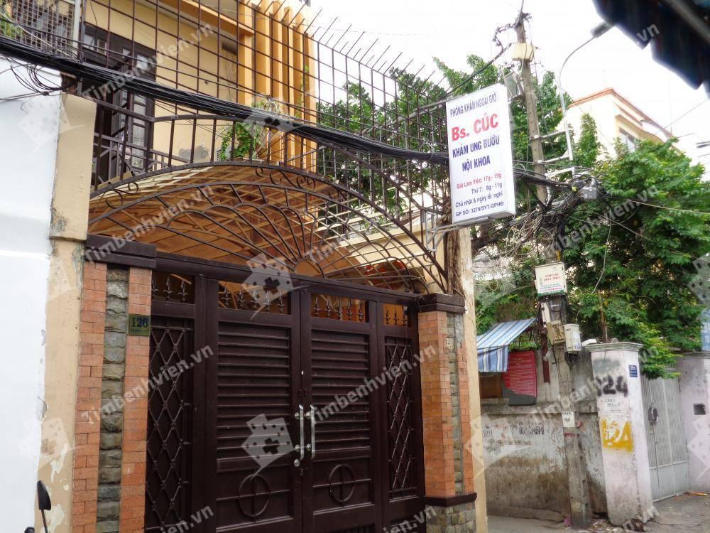 Phòng khám chuyên khoa Ung Bướu - BS. Cúc - Cổng chính