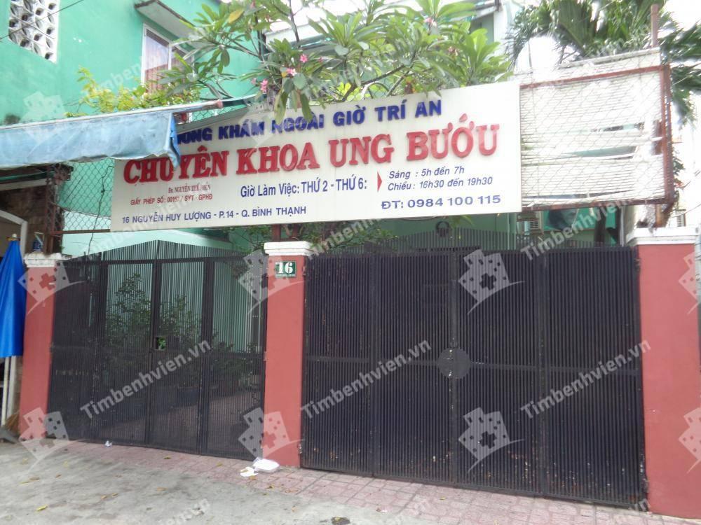 Phòng khám chuyên khoa Ung Bướu - BS. Nguyễn Thế Hiển