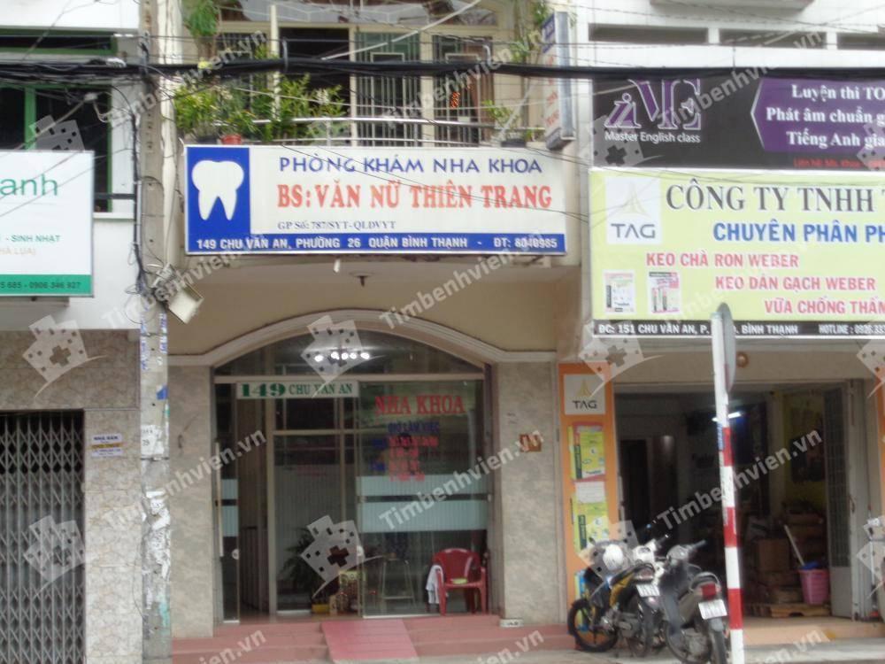Phòng khám chuyên khoa Răng hàm mặt - BS. Văn Nữ Thiên Trang