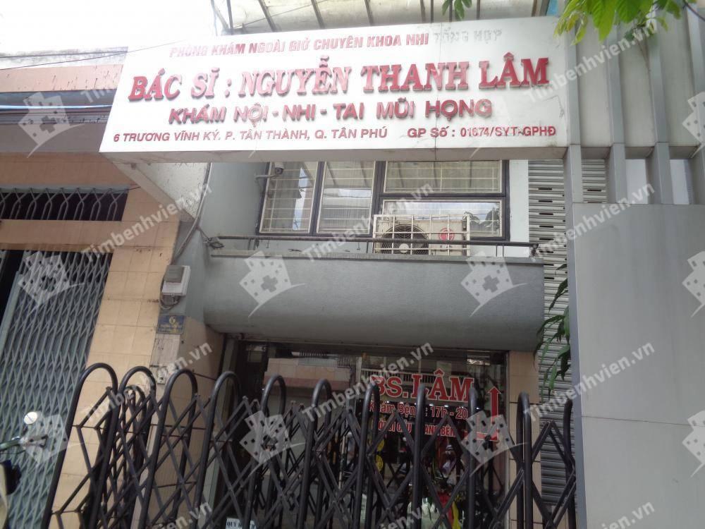 Phòng khám chuyên khoa Nhi - BS. Nguyễn Thanh Lâm